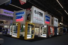 Display design booth stand #orma expo Ferretera  by CAMALEONDISPLAY