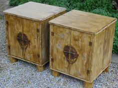 """(RS 29) Rustic Cabinet / Side Table. Dimensions L455 x W455 x H555mm.  Price R1120 each Can be ordered in the dimensions and colours of your choice and in """"rustic"""", """"whitewash"""" or """"shabby chic"""" finishes! For full price list: humanr@telkomsa.net FB: http://www.facebook.com/RoesSkroef"""