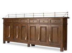 Sideboard Buffet Cabinet hallway Narrow Solid Walnut Handmade New Ships FREE Small Oak Sideboard, Walnut Sideboard, Antique Sideboard, Hickory Furniture, Large Furniture, Classic Furniture, Sideboard Cabinet, Hallway Sideboard, Furniture Factory