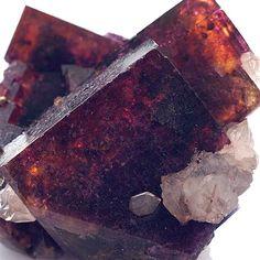 Fluorite ~ Bergmännisch Glück Mine, Frohnau, Erzgebirge, Saxony, Germany