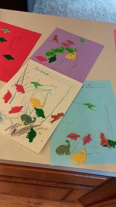 Dinosaur Preschool Theme - Activities and songs the kids will love! from Joyful Family Life