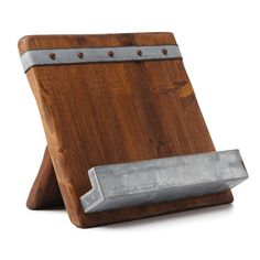New Giveaway! Win this Gorgeous Reclaimed Wood Cookbook Stand From Uncommon Goods!
