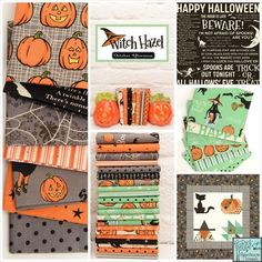 Riley Blake Witch Hazel quilt fabric