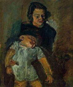 Chaim Soutine – Maternity, 1942
