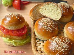 panini x hamburger ricetta Bimby e non