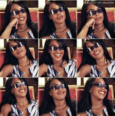 Aaliyah: Mtv Stripped Interview, shield sunglasses
