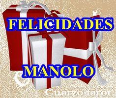 FELICIDADES MANOLO #Feliz2015 #Para2015Quiero #Cachitos2015 #Manuel  https://www.cuarzotarot.es/