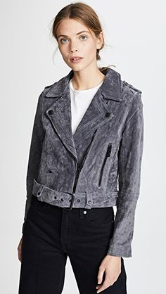 online shopping for Blank Denim Stargazer Suede Moto Jacket from top store. See new offer for Blank Denim Stargazer Suede Moto Jacket Suede Moto Jacket, Leather Jacket, Photographer Outfit, Blank Denim, Jackets Online, Stargazing, Your Style, Female