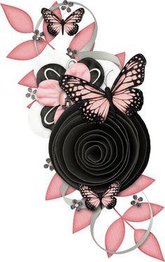 "Photo from album ""Ooh_La_La"" on Yandex. Butterfly Wallpaper, Butterfly Art, Pink Wallpaper, Wallpaper Backgrounds, Iphone Wallpaper, Dreamcatcher Wallpaper, Art Papillon, Scrapbook Borders, Butterfly Pictures"