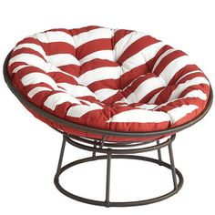 Papasan Outdoor Frame - Mocha - from Pier1.  Our chief Ed has this on her porch for reading outside and loves it.