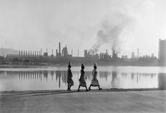 """""""Jamshedpur, Inde"""" Photographie de l'artiste Werner Bischof 1951"""