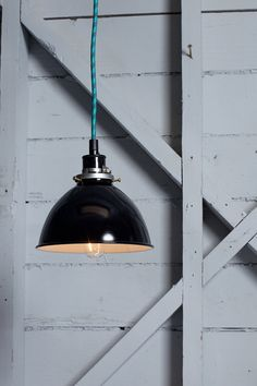 Metal Shade Industrial Pendant from Industrial Light Electric. Shop more products from Industrial Light Electric on Wanelo. Industrial Style Lighting, Industrial Living, Barn Lighting, Home Lighting, Modern Lighting, Lighting Design, Pendant Lighting, Vintage Industrial, Lighting Ideas