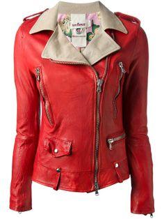 Women - All - Unfleur Leather Biker Jacket - Biffi