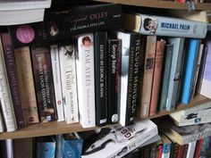 Only a small select few of my Biography/Autobiography collection... they're double-parked on one shelf.