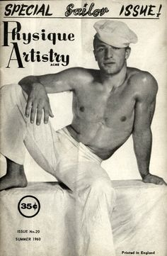 Retro beefcake magazines give a glimpse into coded gay media of yesteryear. www.stlouislgbthistory.com