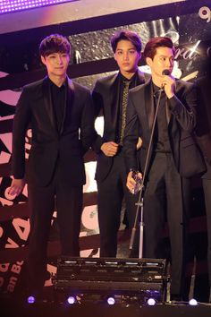 Lay, Kai, and Suho #EXO