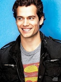 Man of Steel...mmmm Henry Cavill... *Kind of strange that he was born where I live and everyone now knows who he is..