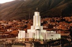 LDS Temple in Cochabamba, Bolivia.