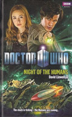 DOCTOR WHO<>NIGHT OF THE HUMANS by DAVID LLEWELLYN