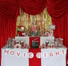 Leonie's Cakes and Parties . . . . .: MOVIE NIGHT PARTY