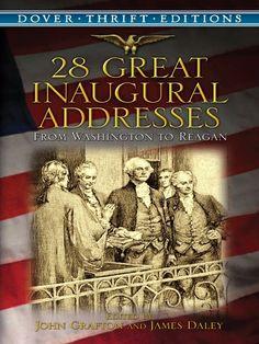 28 Great Inaugural Addresses