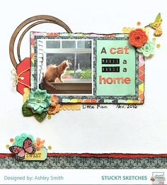 Stuck?! Sketches November 15 2017 challenge DT layout by Ashley