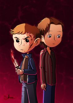 winchester winchester's Brother Fan art Supernatural