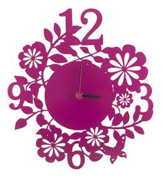 Relógio Parede Primavera Pink - Studio BDA