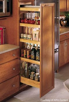 Inspiration Image only = wonder if I could do this to my pantry??