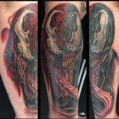 1000 ideas about venom tattoo on pinterest venom wolverine tattoo and comic book tattoo. Black Bedroom Furniture Sets. Home Design Ideas