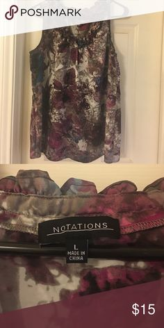 Blouse Nice silky blouse Notations Tops Blouses