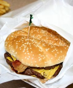 America's Unhealthiest Fast Food Items (Pictured: Hardee's 1/3 lb Original Thickburger)