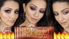 URBAN DECAY NAKED HEAT Palette Tutorial  3 Looks + GIVEAWAY!