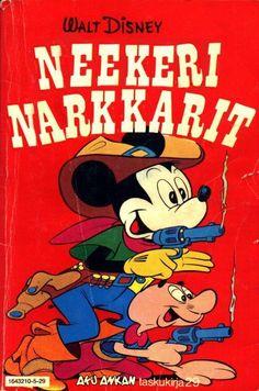 Oho neekerit saavatkin syytteen vihariko... - Satunnainen Comic Book Covers, Comic Books, Walt Disney, Map Pictures, Disney Cartoons, Finland, Retro Vintage, Nostalgia, Comics