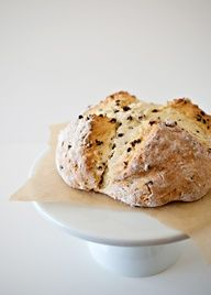 Irish Soda Bread recipe - Previous pinner said, This was incredibly easy to make, just like a big muffin, mix wet with dry and you are done.