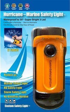 Hurricane-Marine Safety Light