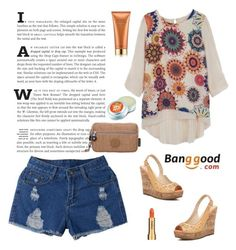"""""""Banggood10"""" by partoffashion ❤ liked on Polyvore featuring Estée Lauder and Sisley"""