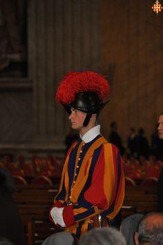 La Guàrdia Suïssa a Sant Pere del Vaticà