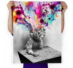 Imaginary Foundation Study Art Print