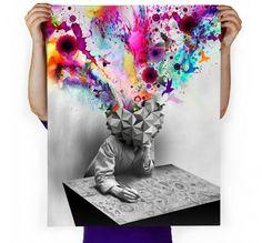 Imaginary Foundation Study Art Print