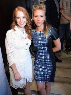 Jessica Chastain & Scarlett Johansson