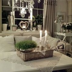 Shabby and Charming: Nordic Shabby Style at home Inge Vintage Shabby Chic, Shabby Chic Homes, Shabby Chic Style, Shabby Chic Decor, Living Room Images, My Living Room, Style At Home, Salons Cosy, Scandi Style