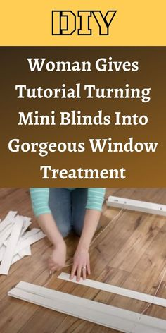 Enjoying the sunshine is one thing, but having it blast through your home's windows is another. #Tutorial #MiniBlinds #Gorgeous #WindowTreatment Mini Blinds, Curtains With Blinds, 1 Dollar Shop, Oscar Fish, Diy Roman Shades, Blue Jeep, Korean Eye Makeup, Bridal Heels, Iron Furniture