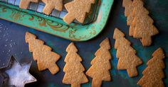 Pleasingly crisp, nicely spicy cutout cookies, with just a hint of molasses.