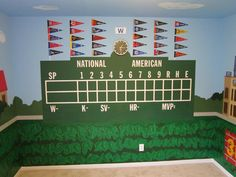 Chalkboard Scoreboard Wall, KmanDesignGroup.com Part 61