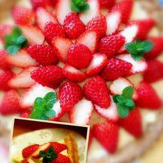 今日は、休みで時間に余裕があったので、ともちゃんのタルトでイチゴタルトのリピ~♪ そしたら、ともちゃんお誕生日と知って☆☆☆☆☆ともちゃんの素敵なケーキとは程遠いけど、アタシがタルトを作れるきっかけを作ってくれたともちゃんにカンパ~イ(*^▽^)/★*☆♪ - 233件のもぐもぐ - ☆イチゴタルト☆ともちゃんお誕生日おめでとう\(^-^)/ by kimikaka