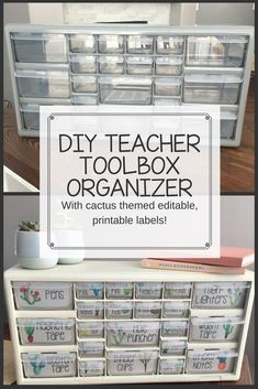 DIY Teacher Toolbox