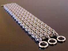 Byzantine sheet bracelet