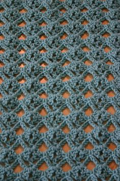 Diamond stitch crochet