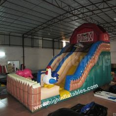Inflatable funny farm